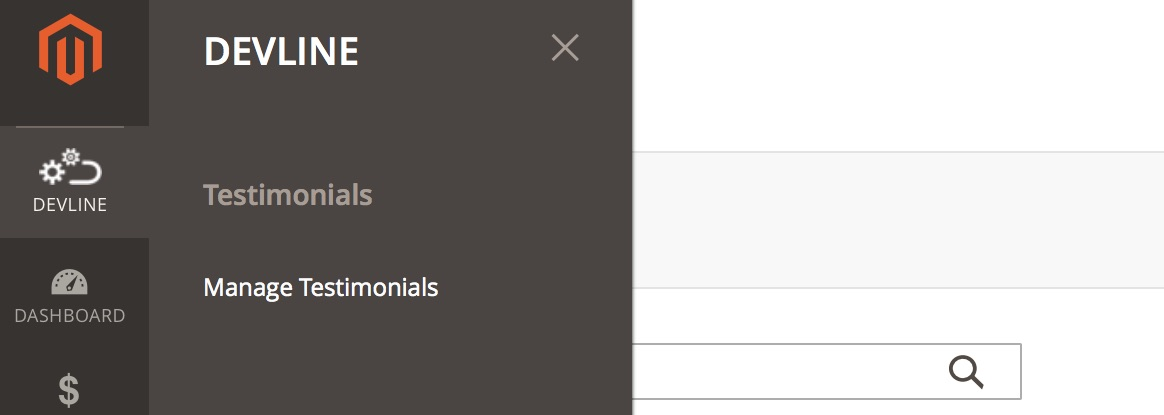 Magento 2: Menu items with custom icon in admin panel